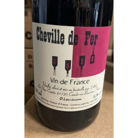 Les Vins Contés Vin de France rouge La Cheville de Fer 2019