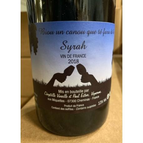 Domaine des Miquettes Vin de France Syrah 2018