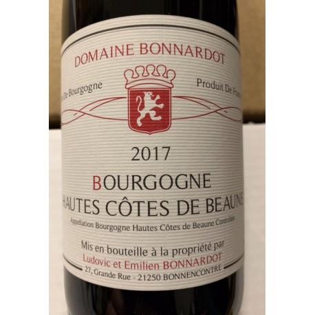 Domaine Bonnardot Hautes Côtes de Beaune 2018