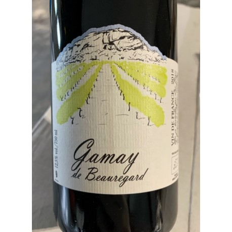 Les Grangeons de l'Albarine Vin de France rouge Gamay de Beauregard 2018