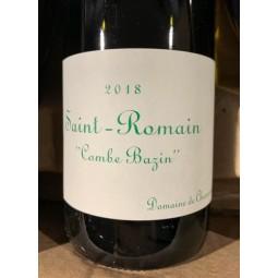 Domaine de Chassorney Saint Romain blanc Combe Bazin 2013