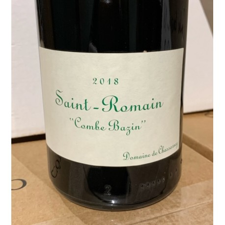 Domaine de Chassorney Saint Romain blanc Combe Bazin 2015 Magnum