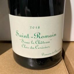 Domaine de Chassorney Saint Romain blanc Sous le Château Clos du Cerisier 2018 Magnum