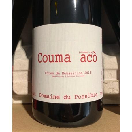 Domaine du Possible Côtes du Roussillon Couma Acò 2018 Magnum