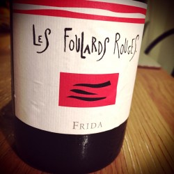 Les Foulards Rouges Vin de France Frida 2015