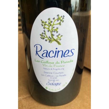 Les Cailloux du Paradis Vin de France blanc Racines 2017