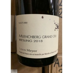 Domaine Julien Meyer Alsace Riesling Grand Cru Muenchberg 2018
