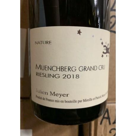 Domaine Julien Meyer Alsace Riesling Grand Cru Muenchberg 2015