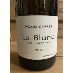 Fond Cyprès Vin de France blanc Le Blanc des Garennes 2018