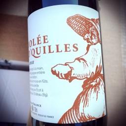 François Ecot L'Insolent Négoce Vin de France Volée d'Quilles 2015