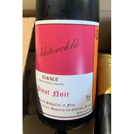 Domaine Schueller Alsace Pinot Noir Bildstœcklé 2016