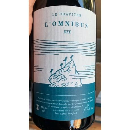 Domaine Le Chapître Vin de France rouge L'Omnibus 2019