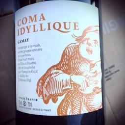 François Ecot L'Insolent Négoce Vin de France Coma Idyllique 2015