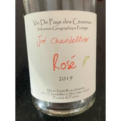 Joé Chandellier Vin de Pays des Cévennes Rosé 2019
