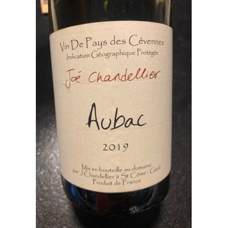Joé Chandellier Vin de Pays des Cévennes rouge Aubac 2019