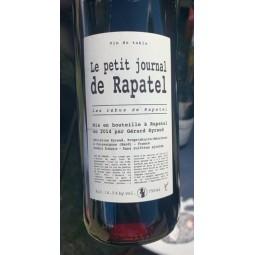 Domaine Rapatel Vin de Table rouge Petit Journal 2014