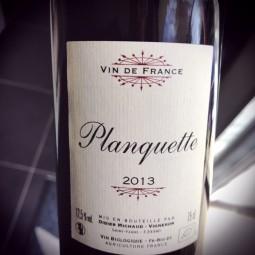 Planquette Vin de France 2013
