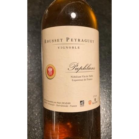 Château Rousset-Peyraguey Vin de France Puphluns 2013