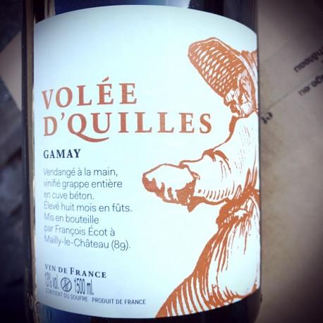 François Ecot L'Insolent Négoce Vin de France Volée d'Quilles 2015 Magnum