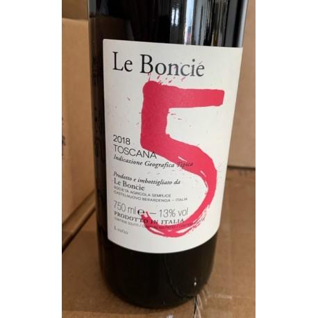 Podere Le Boncie Toscane rouge Cinque 2018