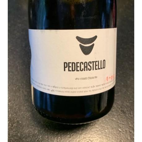 Ombretta Agricola Pet nat rosé de Vénétie Pedecastello 2018