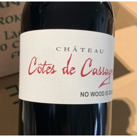 Château Côtes de Cassagne Bordeaux Supérieur No Wood is Good 2016