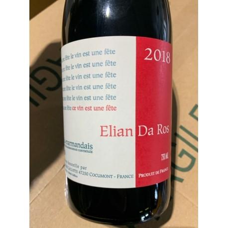 Elian Da Ros Côte du Marmandais Le Vin est une Fête 2018