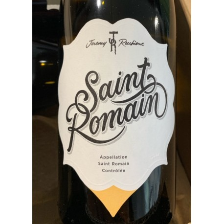 Jérémy Recchione Saint Romain blanc 2018
