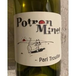 Domaine Potron Minet Vin de France blanc Pari Trouillas 2019