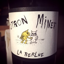 Domaine Potron Minet Vin de France rouge La Berlue 2018