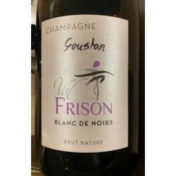 Val Frison Champagne Blanc de Noirs Goustan Zéro dosage 2017