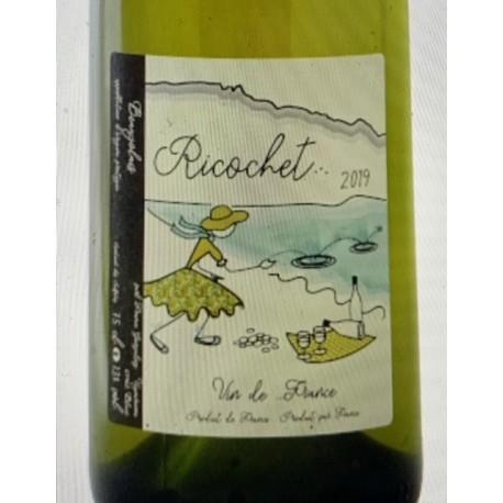 France Gonzalvez Beaujolais blanc Ricochet 2019