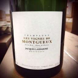 Jacques Lassaigne Champagne Extra Brut Blanc de Blancs Les Vignes de Montgueux