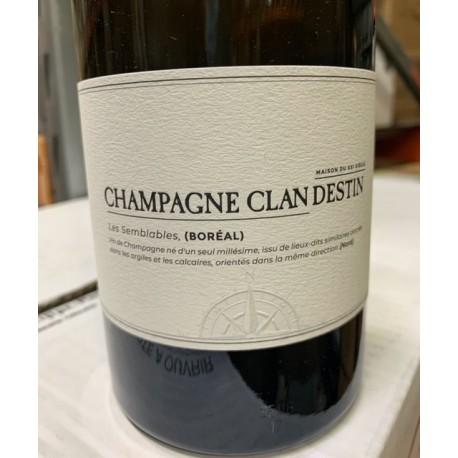 Champagne Clandestin Brut Nature Blanc de Noirs Les Semblables