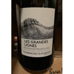 Champagne Clandestin Brut Nature Blanc de Blancs Les Grandes Lignes