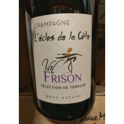 Val Frison Champagne Brut Nature Blanc de Noirs L'Eclos de la Côte 2015