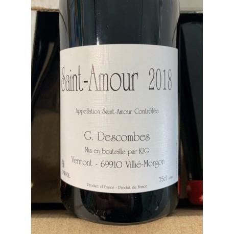 Domaine Descombes Saint Amour Vieilles Vignes 2018