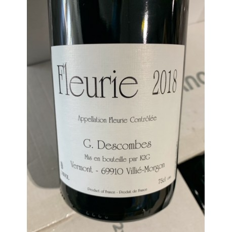 Domaine Descombes Fleurie Vieilles Vignes 2018