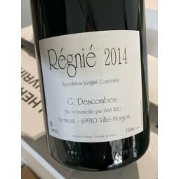 Domaine Descombes Régnié Vieilles Vignes 2014 Magnum