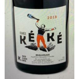 Kewin Descombes Beaujolais Cuvée Kéké 2018