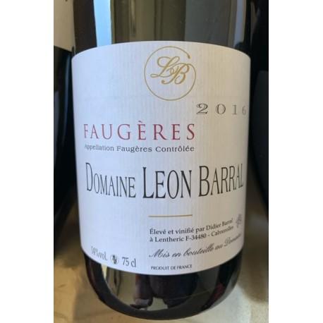 Domaine Léon Barral Faugères Tradition 2015