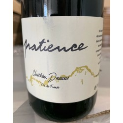 Christian Ducroux Vin de France Patience 2018