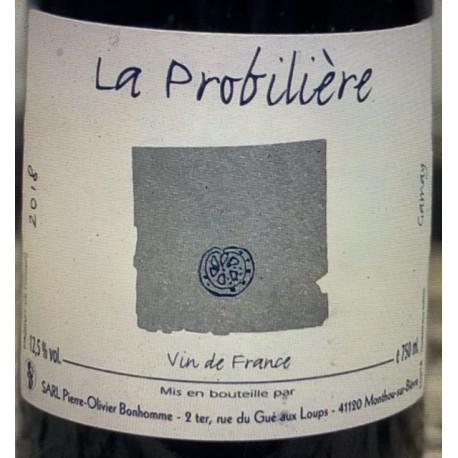 Pierre-Olivier Bonhomme Vin de France rouge La Probilière
