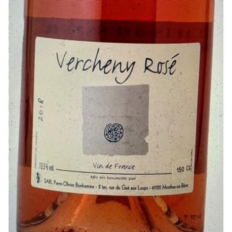 Pierre-Olivier Bonhomme Vin de France rosé Vercheny 2018