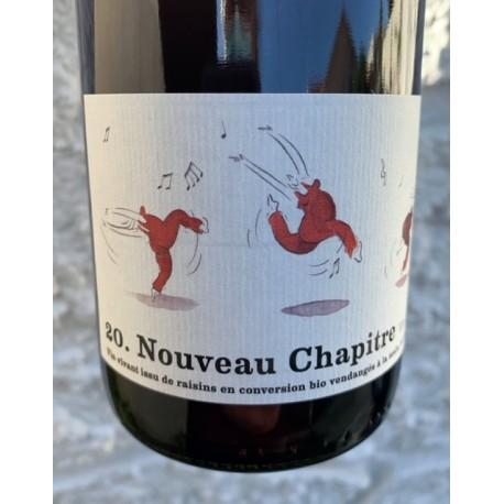 Domaine Le Chapître Vin de France rouge Nouveau Chapître 2020