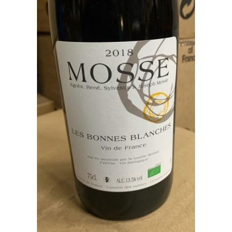 Domaine Mosse Vin de France blanc Les Bonnes Blanches 2015