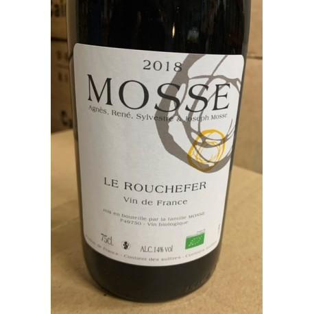 Domaine Mosse Vin de France blanc Le Rouchefer 2018