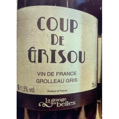 Domaine de la Grange aux Belles Vin de France blanc Coup de Grisou 2020