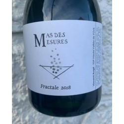 Mas des Mesures Vin de France rosé Méthode Traditionnelle Fractale 2018