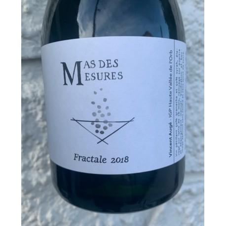 Mas des Mesures Vin de France rosé Méthode Traditionnelle Fractale 2018